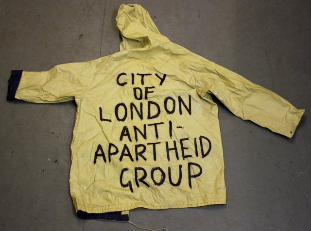 Waterproofs that survived the Non-Stop Picket (Source: City Group)