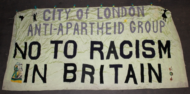 Linking struggles in Britain and South Africa (Source: City Group)