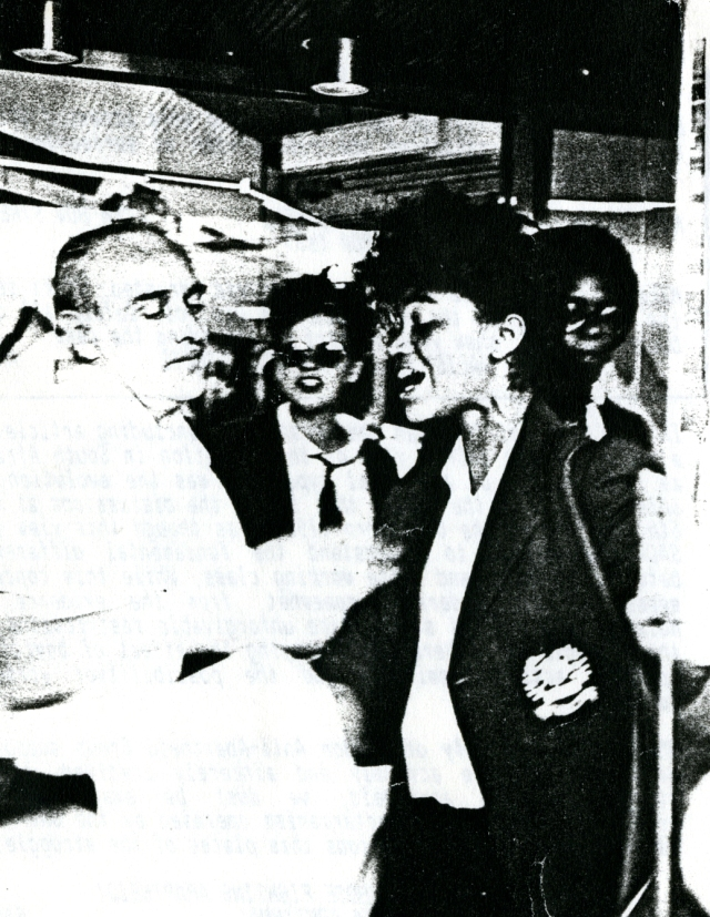 South African Women's Day occupation of South African Airways, 9 August 1988 (Source: City Group)