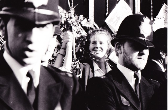 Break the Chains action, 11 October 1986 (Source: Sally O'Donnell)