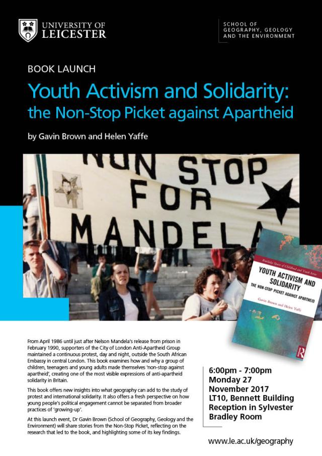 Youth Activism & Solidarity Leicester Book Launch
