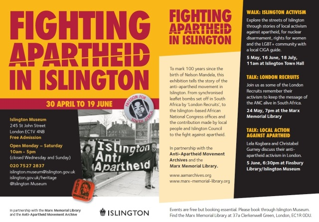 Fighting Apartheid -Flyer 2 page